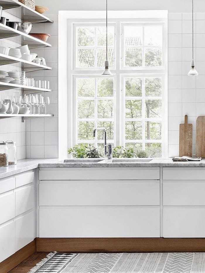 Cocina con Estilo Escandinavo - visto en dustjacket-attic.com