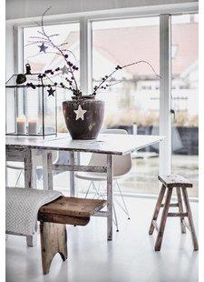 Sustainable Deco ethnic Scandinavian style seen on makeover.nl