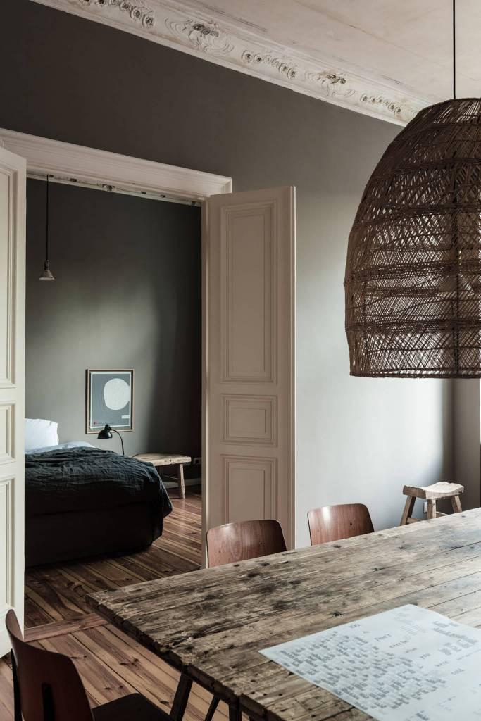Magnífico Apartamento con Decoración Rústica en Berlin - visto en frenchyfancy.com