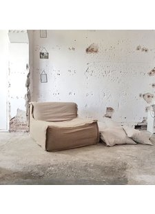 Déco rustique aux différents tons beige/sable - par Paulina Arcklin - vu sur Instagram