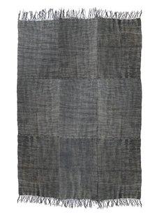 HK Living Alfombra de Lino - Prelavada en Piedra - Gris Oscuro - 230x320cm - HK Living