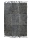 HK Living Linen Rug Scandinavian stone washed - dark gray - 155x215cm - HK Living