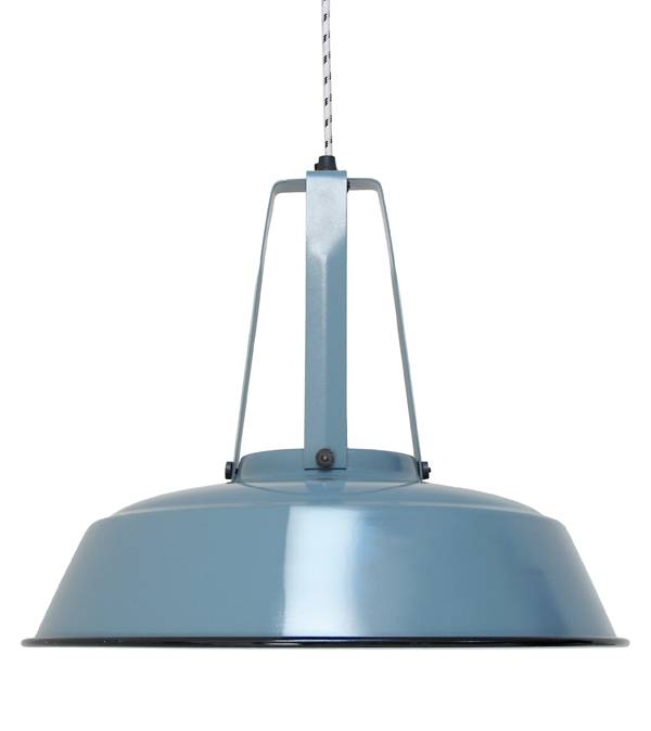 HK Living Industrial lamp made of metal - Ø45cm - Bleue - HK Living