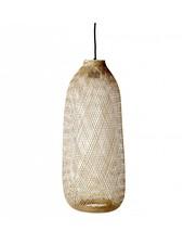 Bloomingville Pendant lamp Bamboo - natural - Ø24xh65cm - Bloomingville