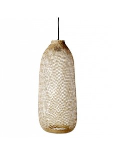 Bloomingville Suspension lamp Bamboo - natural - Ø24xh65cm - Bloomingville