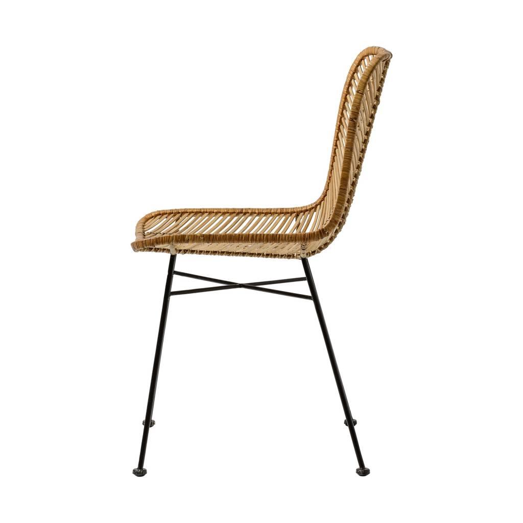 """Bloomingville Rattan chair 'Lena"""" - Natural - Bloomingville"""