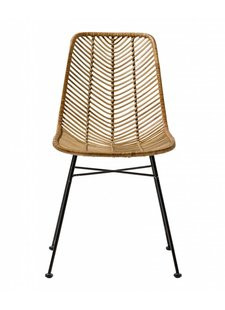 Bloomingville Chaise Lena rotin naturel - Bloomingville
