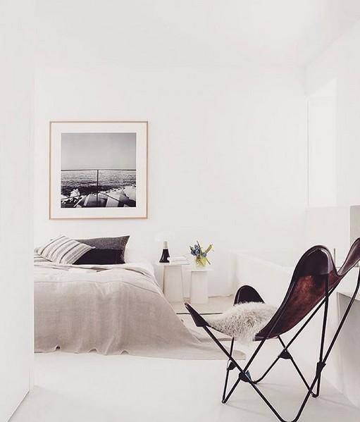 Silla Vintage con diseño mariposa- visto en FEEM Interior Design Sweden