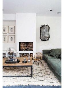 Las alfombras étnicas, beréberes y boucherouite son la nueva tendencia decorativa de este año - visto en Marie Claire Maison