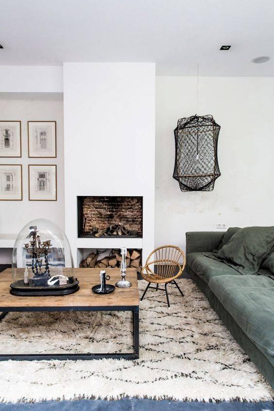 Les tapis ethniques, berbères et Boucherouites sont dans la tendance déco cette année - Vu sur Marie Claire Maison