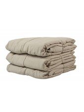Tell me more Duvet cover 100% stonewashed linen - 220x240 - Sand - Tell me more
