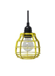 HK Living Lampe suspension LAB - chartreuse - HK Living