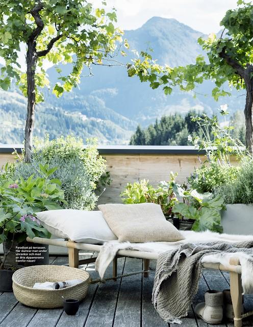 Un exterieur tout en charme - Vu sur Residence Magazine Sweden