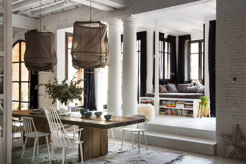 Rehabilitación Escandinava de un apartamento en Barcelona - Marta Castellano