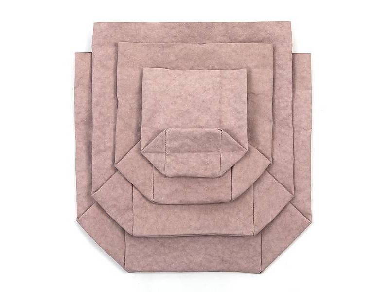 Uashmama Sac en Papier Lavable Rose / Quarzo Rosa - Uashmama