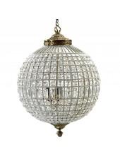 Nordal Large crystal ball pendant lamp - glass beads / metal - Ø50cm x H72cm - Nordal