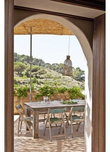 Beautiful styling of a holiday apartment on the island of Ibiza - from Welcome Beyond