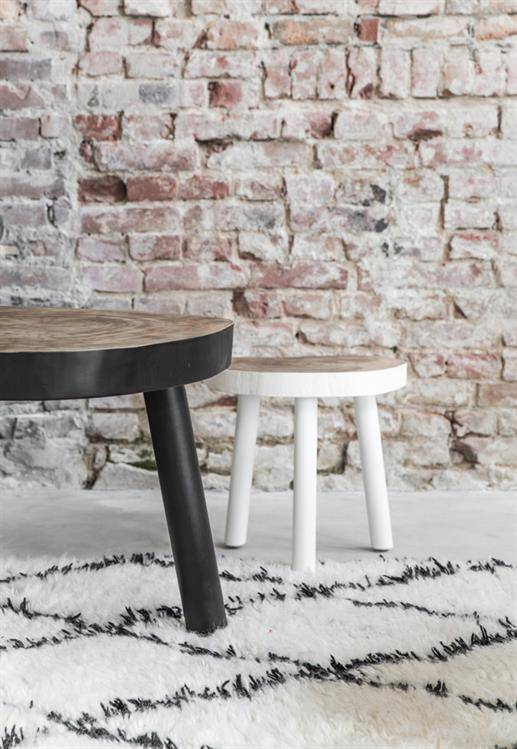 HK Living Tree table - black wood - 65m - black - HK Living