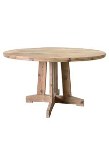HK Living Dinning table recycled teak - Ø140cm - HK Living
