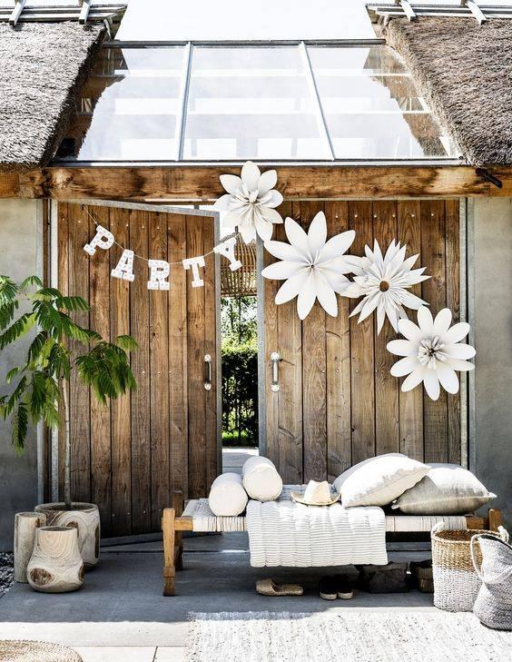 Garden party decoration by VT Wonen