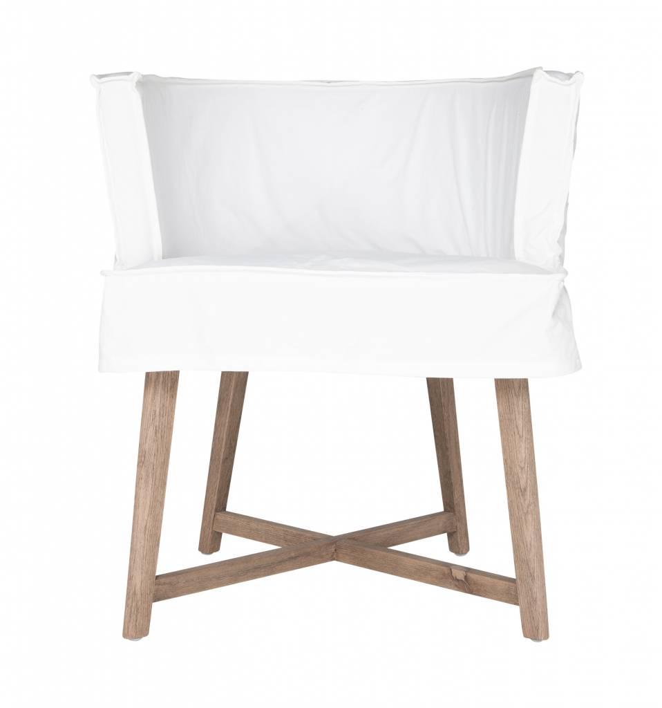 """Uniqwa Furniture  Silla """"Guatemala"""" - Blanco - Uniqwa Furniture"""
