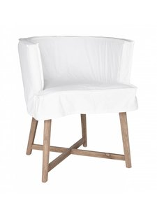 "Uniqwa Furniture  Chaise ""Guatemala"" - blanche - Uniqwa Furniture"