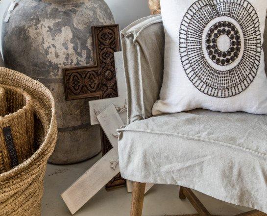 """Uniqwa Furniture  Chair """"Guatemala"""" - gray - Uniqwa Furniture"""