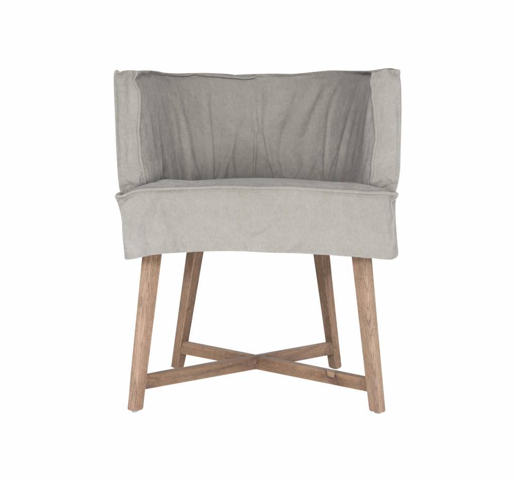 """Uniqwa Furniture  Silla """"Guatemala"""" - Gris - Uniqwa Furniture"""