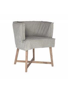 "Uniqwa Furniture  Chair ""Guatemala"" - gray - Uniqwa Furniture"