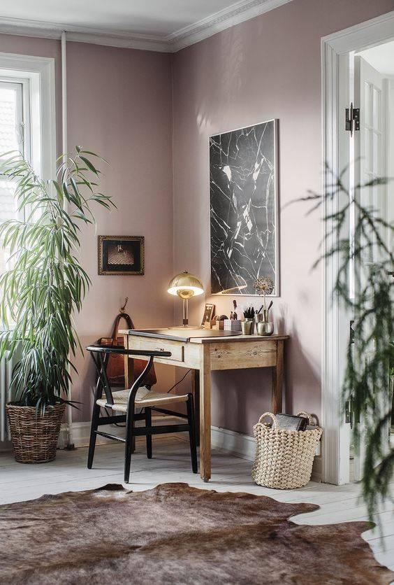 Un décor féminin relaxant avec une touche rose poudrée- French by Desgin et Planete Deco