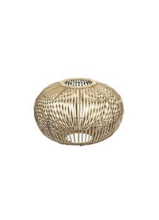 Broste Copenhagen Suspension Lamp Bamboo 'ZEP' - natural - Ø48cm - Broste Copenhagen