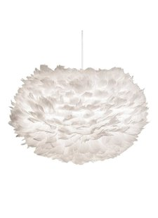 EOS pendant light white feathers - Ø45cm - Vita Copenhagen