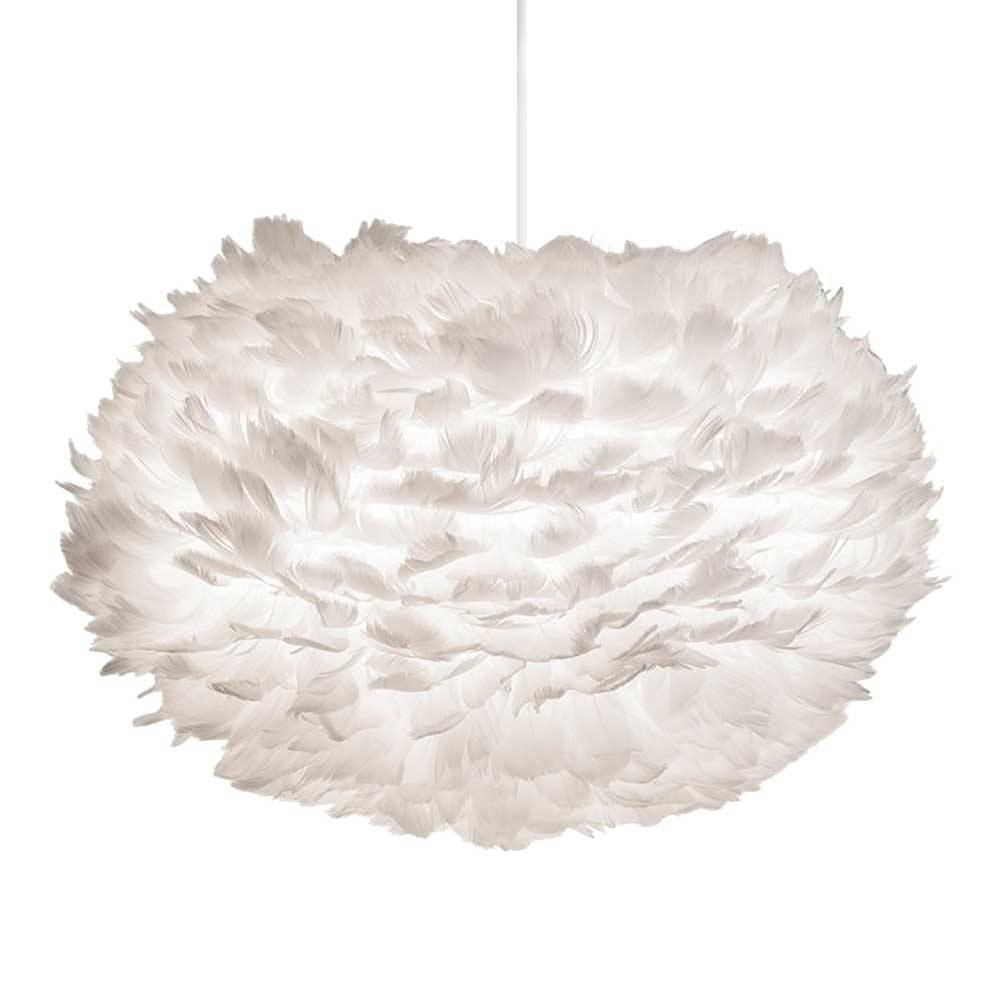 EOS pendant light white feathers - Ø45cm - Vita Copenhagen
