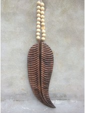 MaduMadu Wall hanging Feather - 56x21cm - MaduMadu