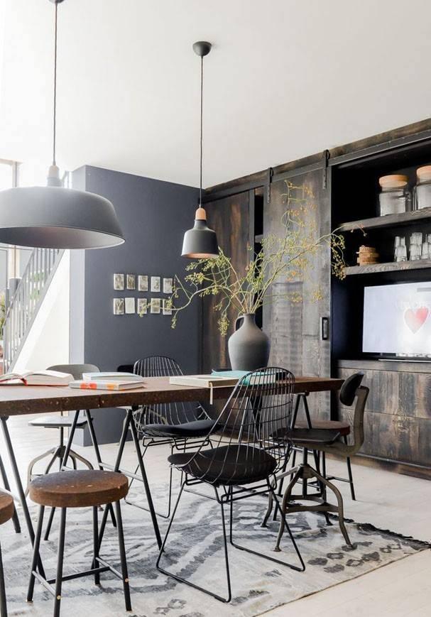 Déco scandinave, industrielle et ethnique avec le Tapis Boucherouite par HK Living - Vu sur Casa Vogue Brasil
