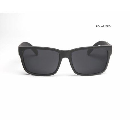 MR JOHNSON Black/Smoke Polarized