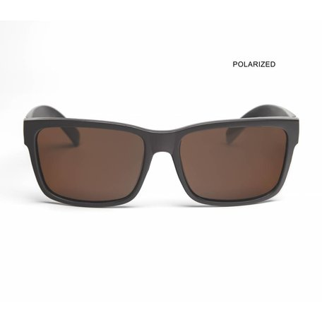 MR JOHNSON Black/Brown Polarized
