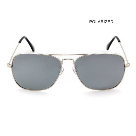 BRAD Silver/Smoke Mirror Polarized