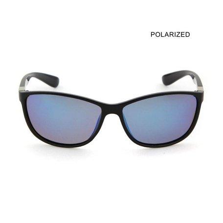 FAST JOE Black/Blue Mirror Polarized