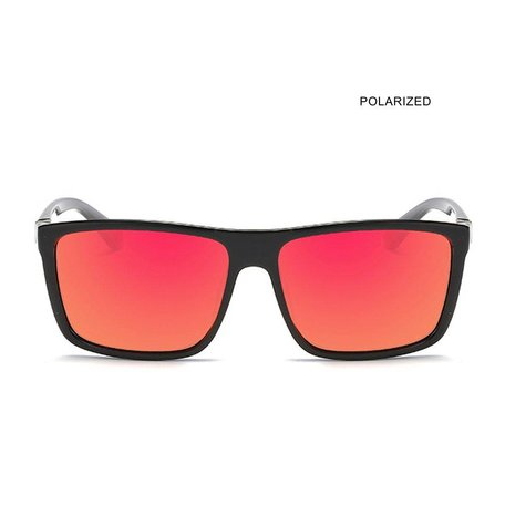 RADICAL RONALD Black/Red Mirror Polarized