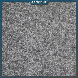 Natuursteenvoordelig Basalt G684 Gevlamd/geborsteld 120x60x1,5 cm