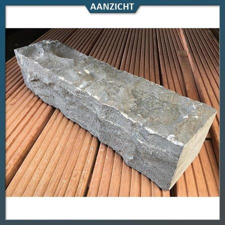 Natuursteenvoordelig Chinees hardsteen Palissade 50x12x12 cm