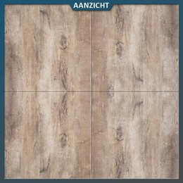 MBI Geoceramica Timber Noce 60x60x4 cm