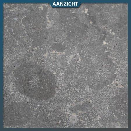 Natuursteenvoordelig Vijverrand Chinees Hardsteen met één ronde neus