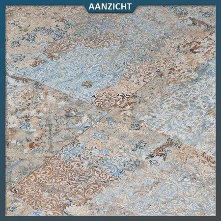 Natuursteenvoordelig Keramische tegel Vestige Natural Carpet 50x100x2 cm