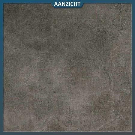 Natuursteenvoordelig Keramische tegel Betonlook Dark 60x90x2 cm