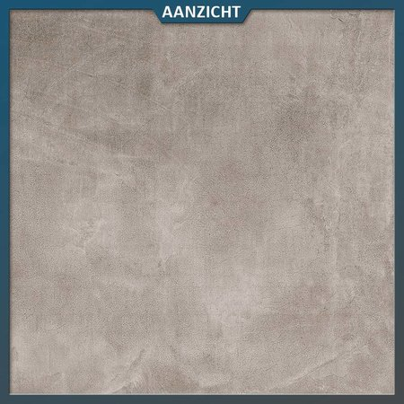 Natuursteenvoordelig Keramische tegel Betonlook Grey 60x90x2 cm