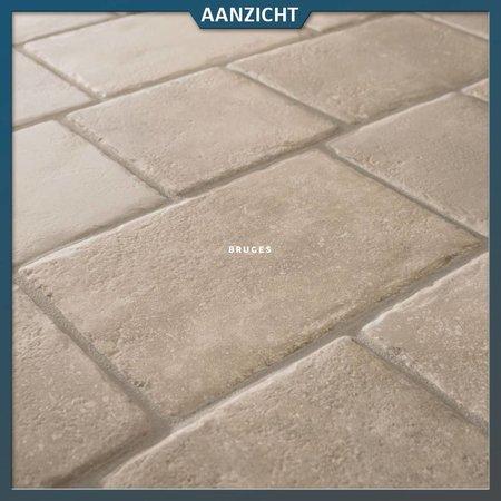 Kronos Keramische terrastegels Keramische tegel Block Bruges 2.0 Kronos
