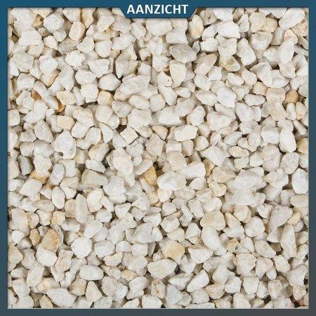 Natuursteenvoordelig Quartz en blanc 8-16 mm