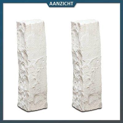 Natuursteenvoordelig Palissade Zandsteen Mint 12x12 cm